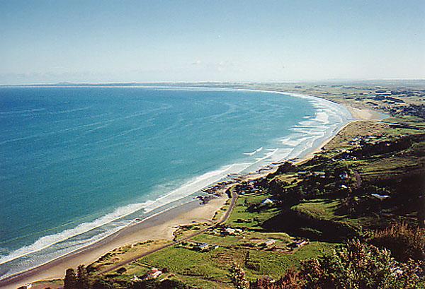 Ahipara New Zealand  City pictures : ahipara 1990 ahipara dawn reefpoint surf boat surfer surfer beach trot ...